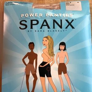 SPANX Performance Underwear Power Panties Bare G